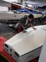 Boote polieren 15.2. 04