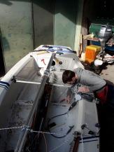 Boote polieren 15.2. 06